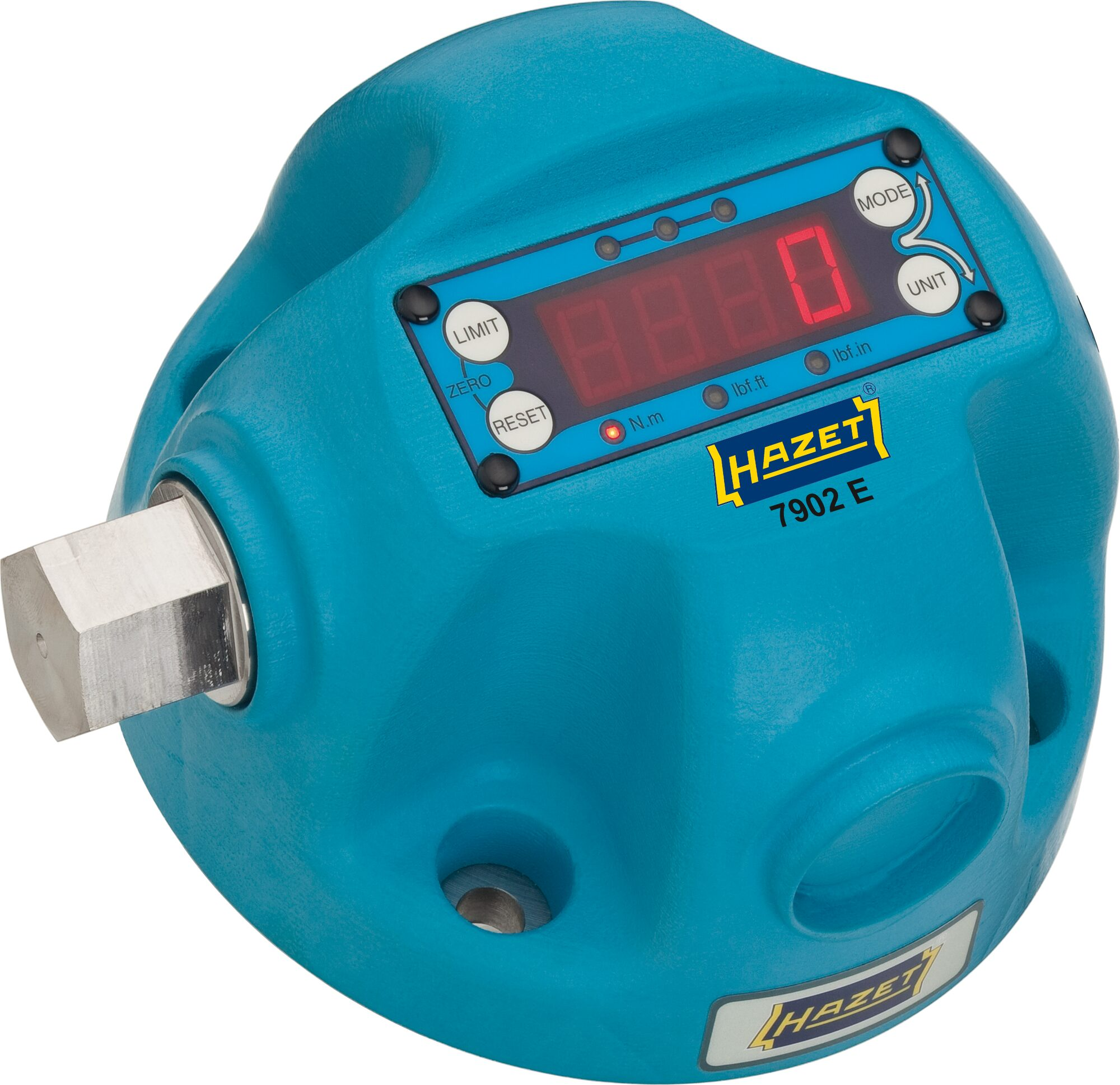 HAZET Drehmoment-Prüfgerät ∙ elektronisch ∙ 100–1000Nm 7902E ∙ Nm min-max: 100–1000 Nm