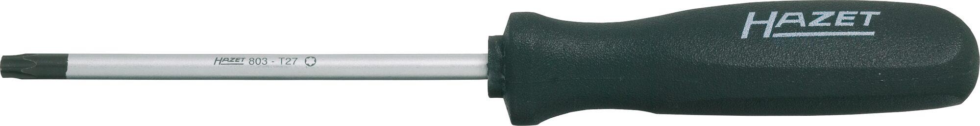 HAZET Schraubendreher trinamic 803-T8 ∙ Innen TORX® Profil ∙ T8