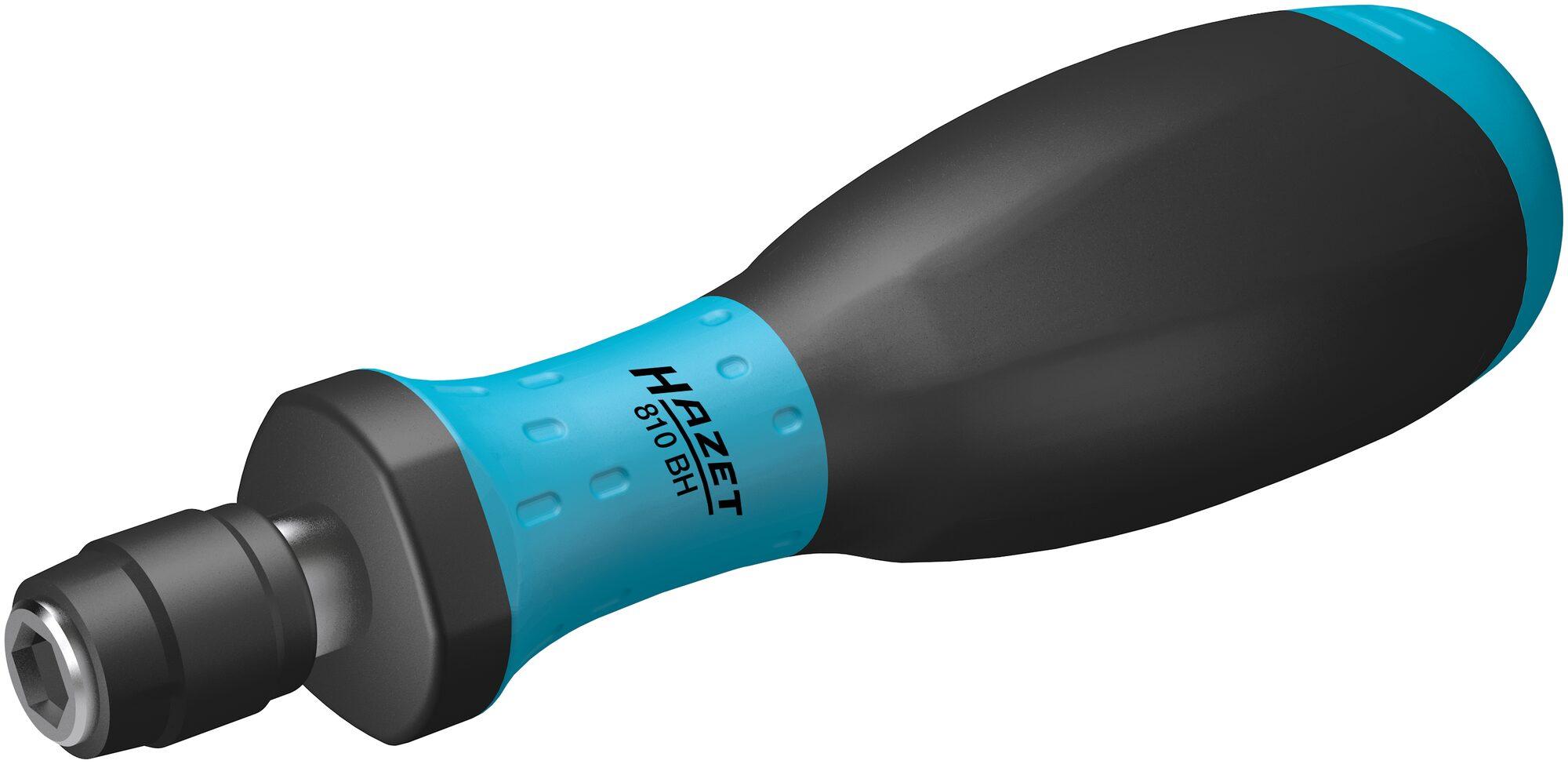 HAZET Einsteck-Bithalter 810BH ∙ Sechskant hohl 6,3 (1/4 Zoll) ∙ 132.5 mm