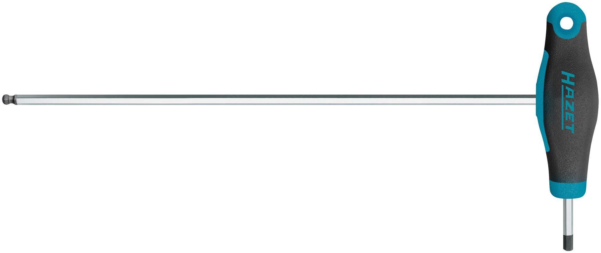 HAZET Schraubendreher ∙ mit T-Griff 829KK-3 ∙ Innen-Sechskant Profil ∙ 3 mm