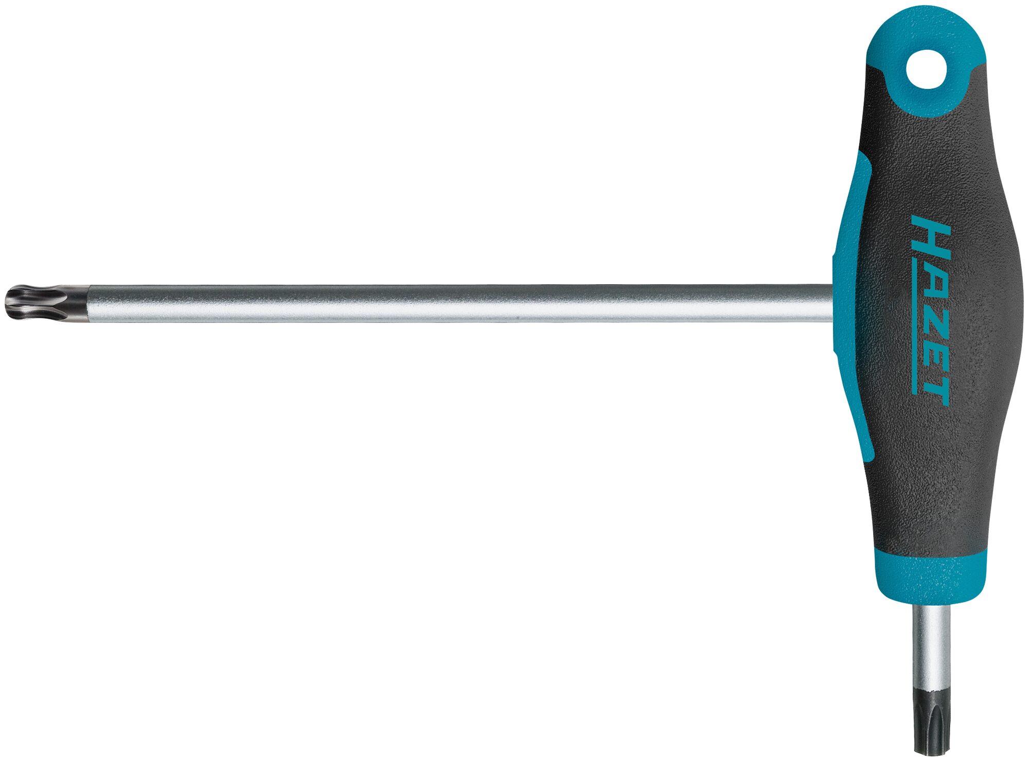 HAZET Schraubendreher ∙ mit T-Griff 829KKT-T25 ∙ Innen TORX® Profil ∙ T25