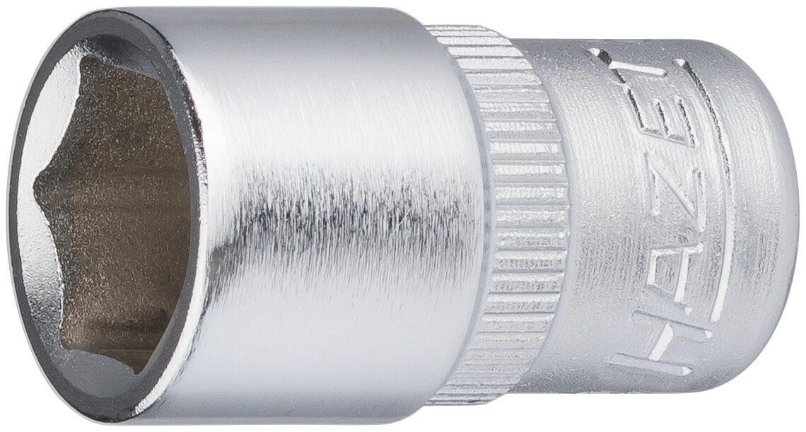 HAZET Steckschlüsseleinsatz ∙ Sechskant 850-10 ∙ Vierkant hohl 6,3 mm (1/4 Zoll) ∙ Außen-Sechskant-Tractionsprofil