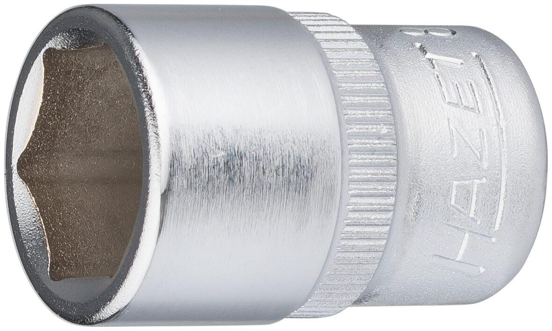 HAZET Steckschlüsseleinsatz ∙ Sechskant 850-12 ∙ Vierkant hohl 6,3 mm (1/4 Zoll) ∙ Außen-Sechskant-Tractionsprofil