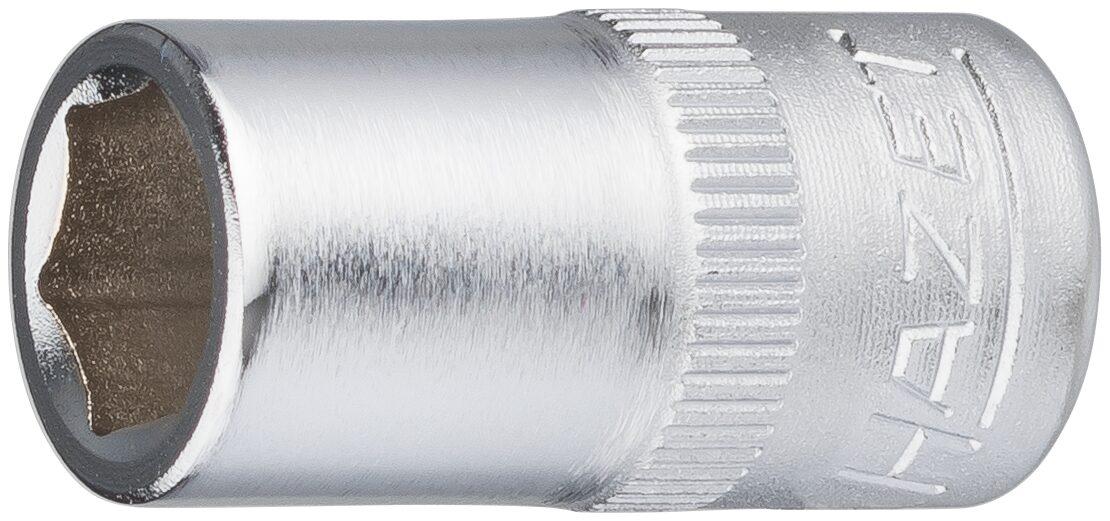 HAZET Steckschlüsseleinsatz ∙ Sechskant 850-8 ∙ Vierkant hohl 6,3 mm (1/4 Zoll) ∙ Außen-Sechskant-Tractionsprofil