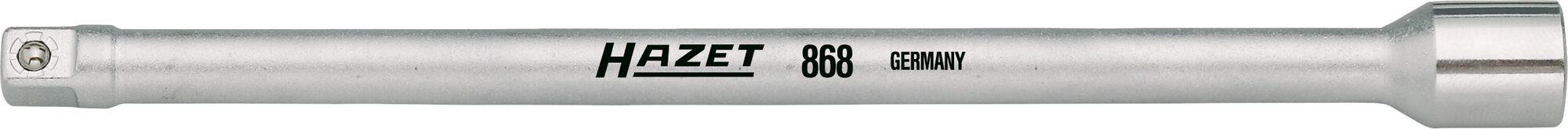 HAZET Verlängerung 868 ∙ Vierkant hohl 6,3 mm (1/4 Zoll) ∙ Vierkant massiv 6,3 mm (1/4 Zoll)