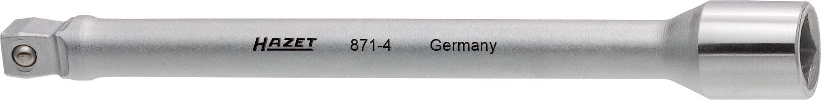 HAZET Verlängerung ∙ schwenkbar 871-4 ∙ Vierkant hohl 6,3 mm (1/4 Zoll) ∙ Vierkant massiv 6,3 mm (1/4 Zoll)