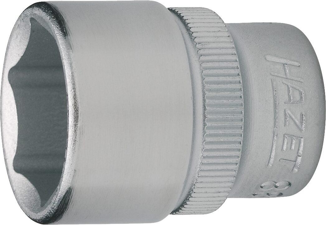 HAZET Steckschlüsseleinsatz ∙ Sechskant 880-17 ∙ Vierkant hohl 10 mm (3/8 Zoll) ∙ Außen-Sechskant-Tractionsprofil