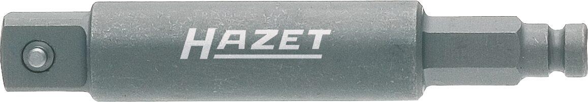 HAZET Schlag- ∙ Maschinenschrauber Adapter 8808S-1 ∙ Sechskant massiv 8 (5/16 Zoll) ∙ Vierkant massiv 10 mm (3/8 Zoll)
