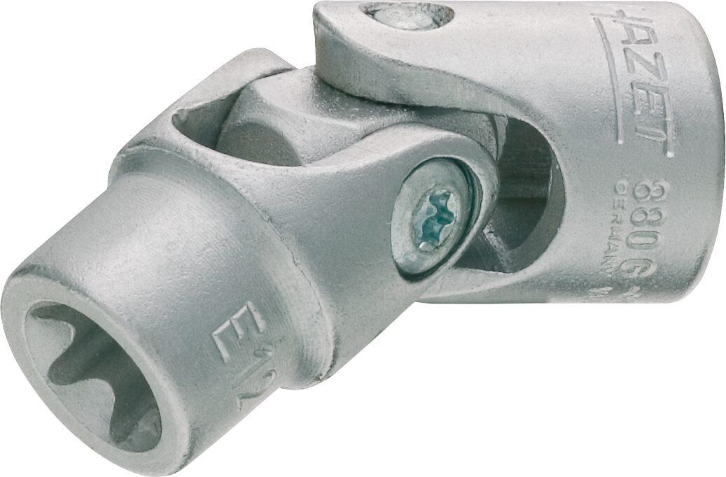 HAZET Steckschlüsseleinsatz TORX® 880G-E12 ∙ Vierkant hohl 10 mm (3/8 Zoll) ∙ Außen TORX® Profil ∙ E12