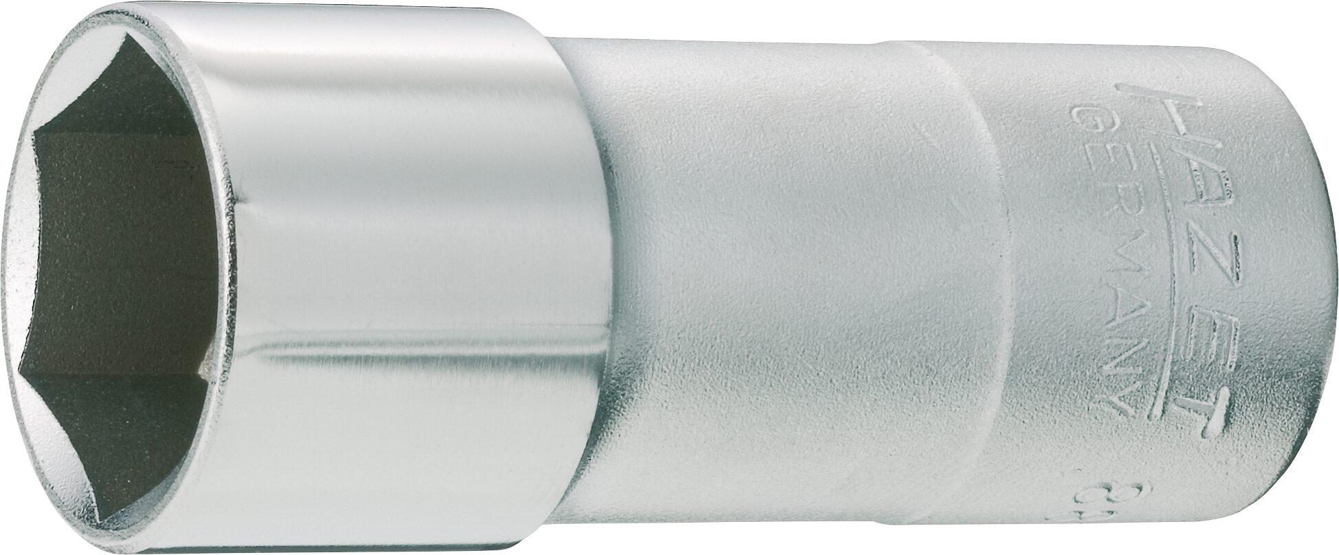 HAZET Zündkerzen Steckschlüsseleinsatz 880KF ∙ Vierkant hohl 10 mm (3/8 Zoll) ∙ Außen-Sechskant Profil ∙ 20.8 mm