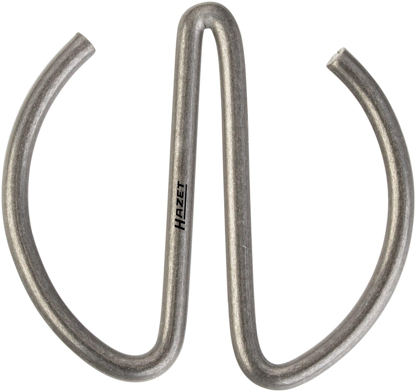 HAZET Sicherungsfeder 900S-HF1530 ∙ Vierkant hohl 12,5 mm (1/2 Zoll) ∙ ∅ 25