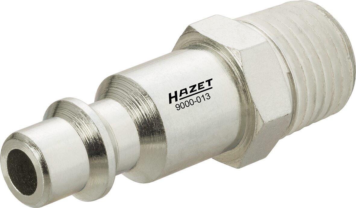 HAZET Luftanschluss-Nippel Satz 9000-013/3 ∙ Anzahl Werkzeuge: 3