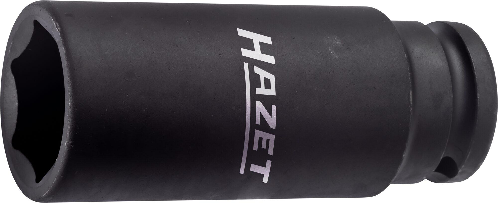 HAZET Schlag- ∙ Maschinenschrauber Steckschlüsseleinsatz ∙ Sechskant 900SLG-19 ∙ Vierkant hohl 12,5 mm (1/2 Zoll)