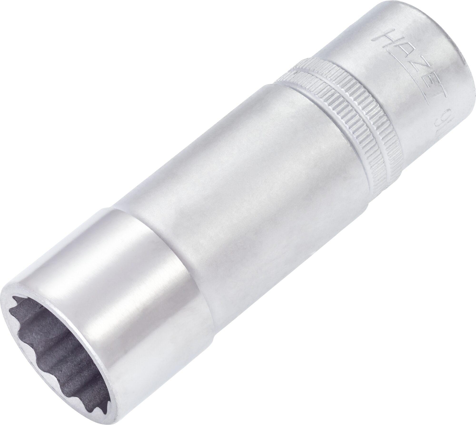 HAZET Steckschlüsseleinsatz ∙ Doppelsechskant 900TZ-20.8-13/16 ∙ Vierkant hohl 12,5 mm (1/2 Zoll) ∙ 20.8 mm