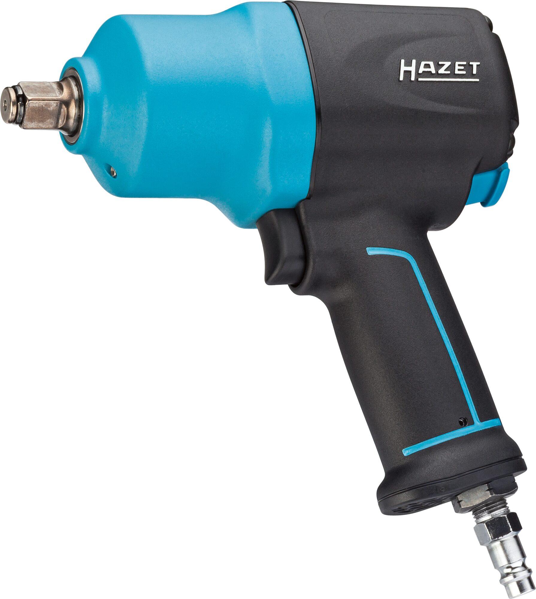 HAZET Schlagschrauber 9012EL-SPC ∙ Lösemoment maximal: 1700 Nm ∙ Vierkant massiv 12,5 mm (1/2 Zoll)