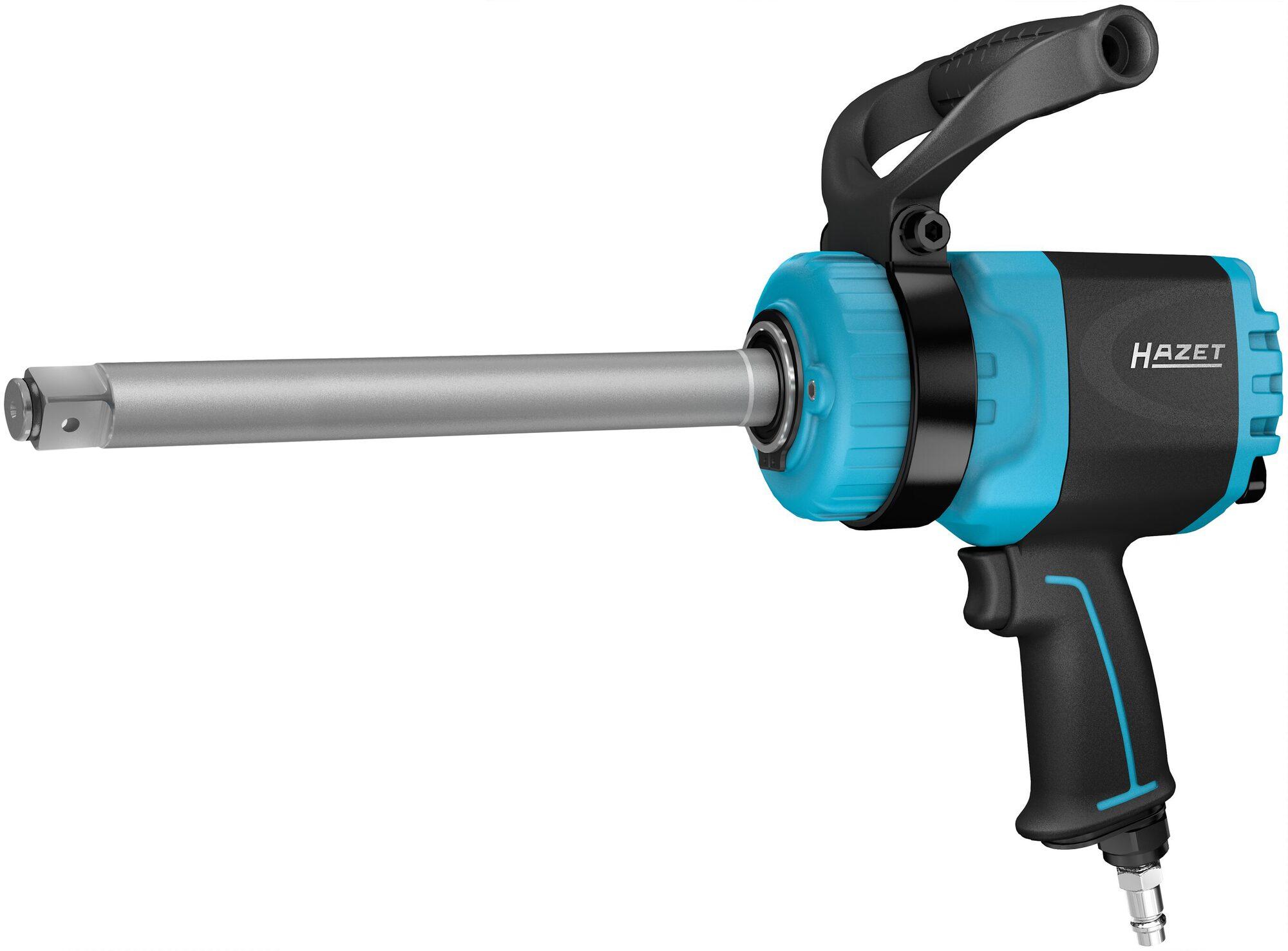 HAZET Twin Turbo Schlagschrauber ∙ lange Spindel 9014LGTT ∙ Lösemoment maximal: 3850 Nm