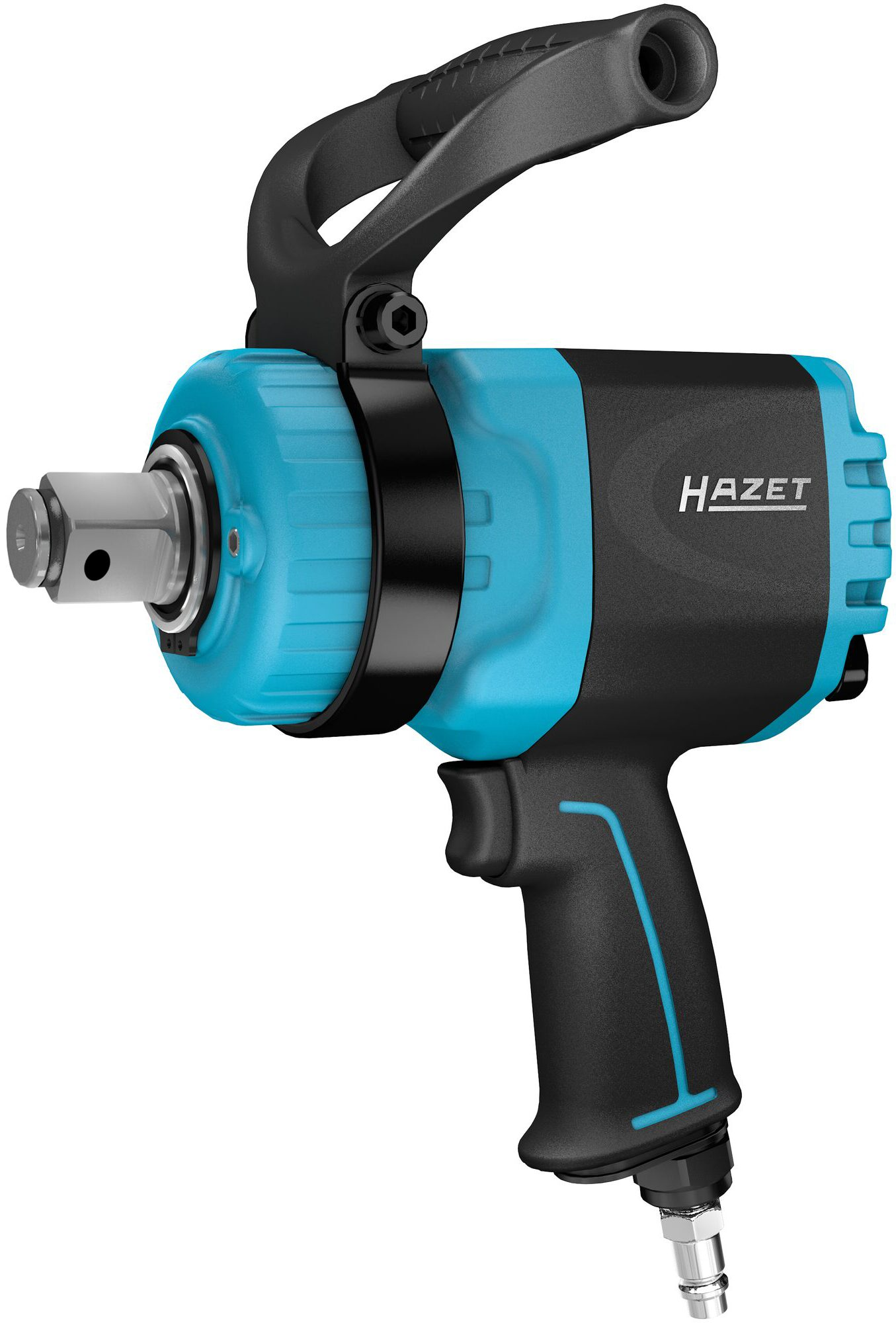 HAZET Twin Turbo Schlagschrauber 9014TT ∙ Lösemoment maximal: 4100 Nm ∙ Vierkant massiv 25 mm (1 Zoll)