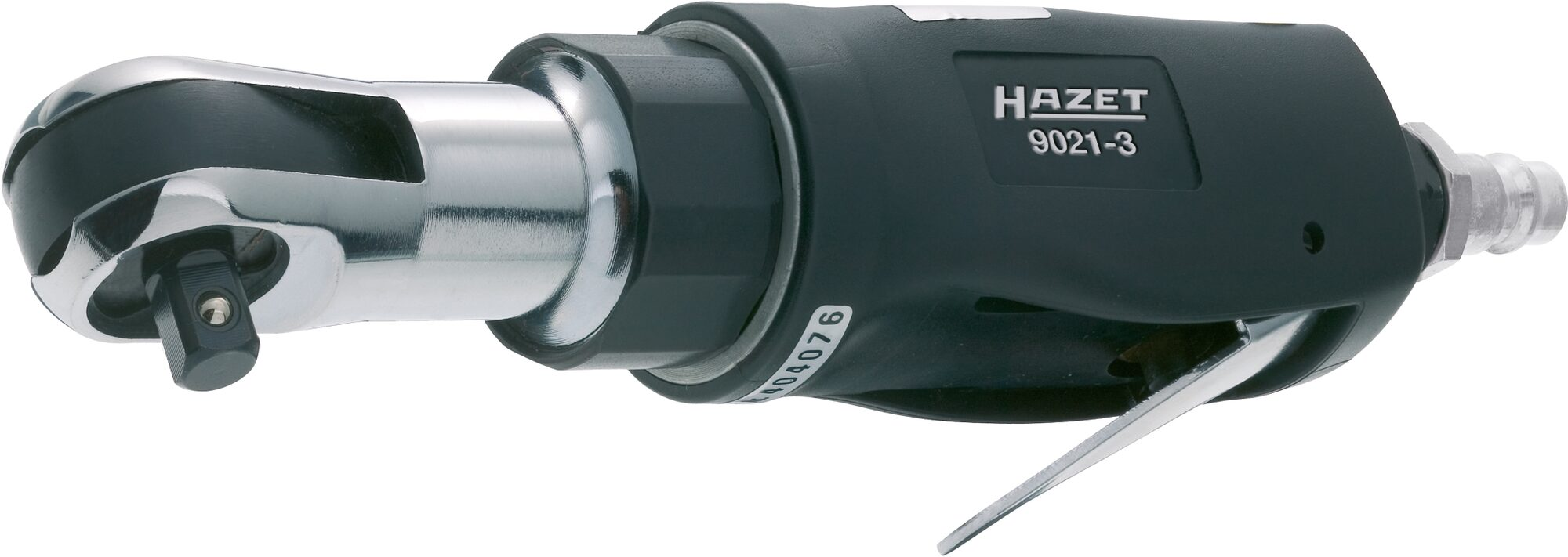 HAZET Ratschenschrauber 9021-3 ∙ Vierkant massiv 10 mm (3/8 Zoll)