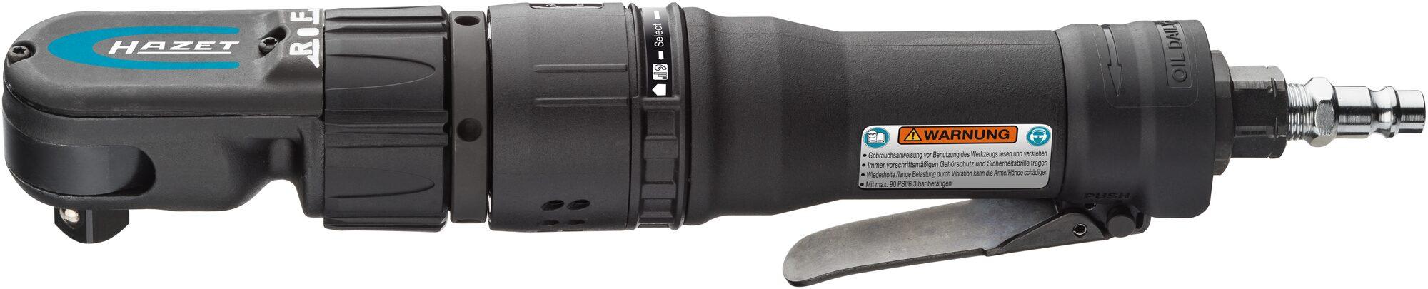 HAZET Hochleistungs-Ratschenschrauber 9022-360 ∙ Vierkant massiv 12,5 mm (1/2 Zoll)