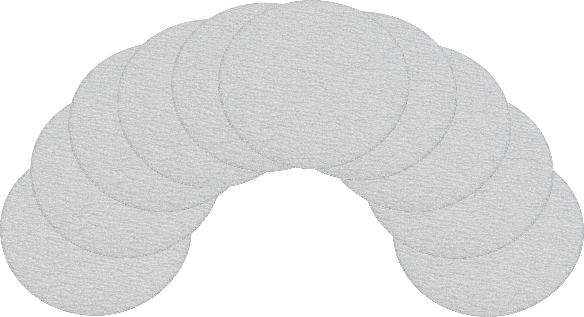 HAZET Ersatz-Schleifpads ∙ Körnung 320 ∙ ⌀ 76,2mm 9033-5-04/10