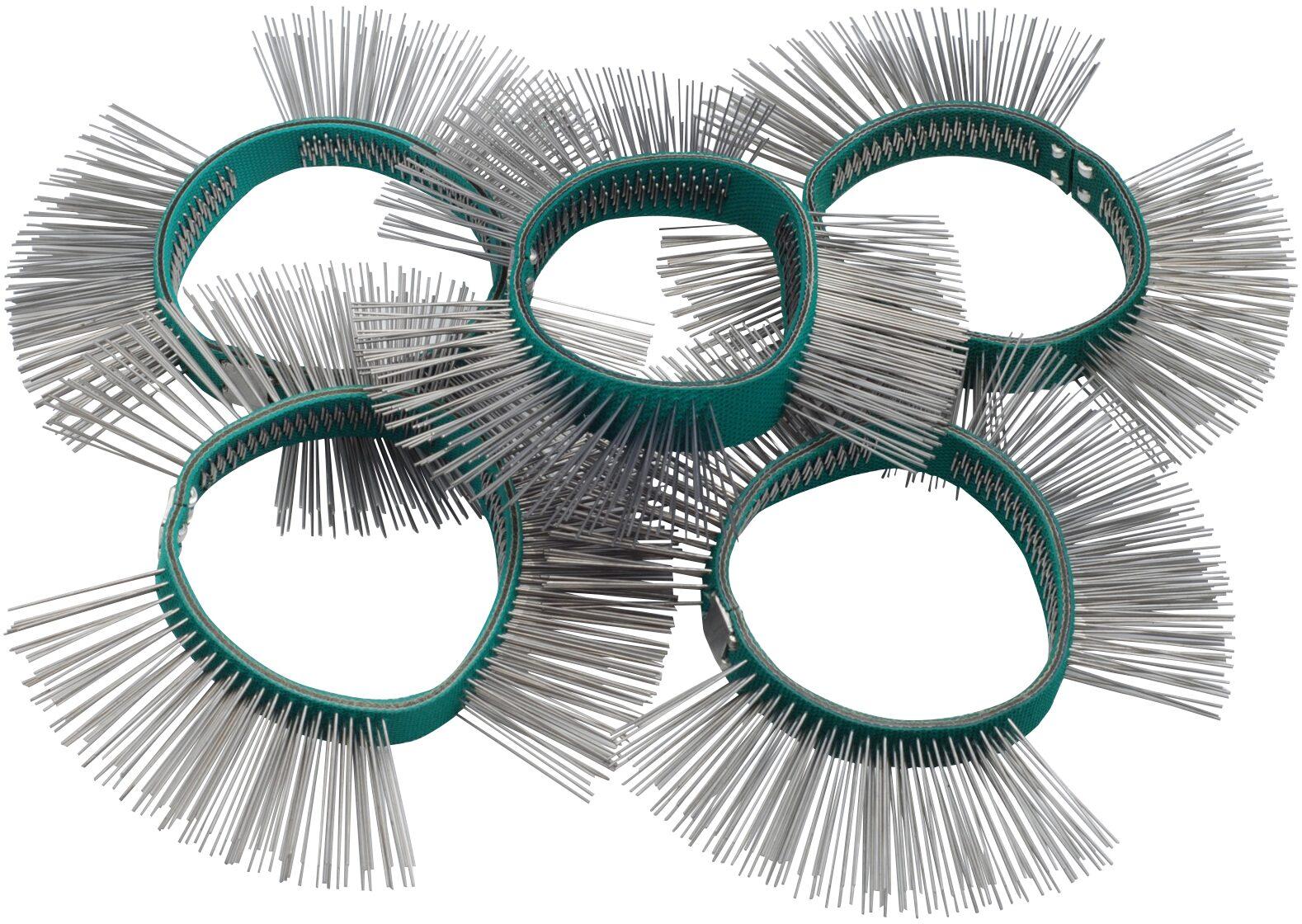 HAZET Bürstenband ∙ 11mm breit ∙ fein ∙ gerade Spitzen 9033-6-05/5