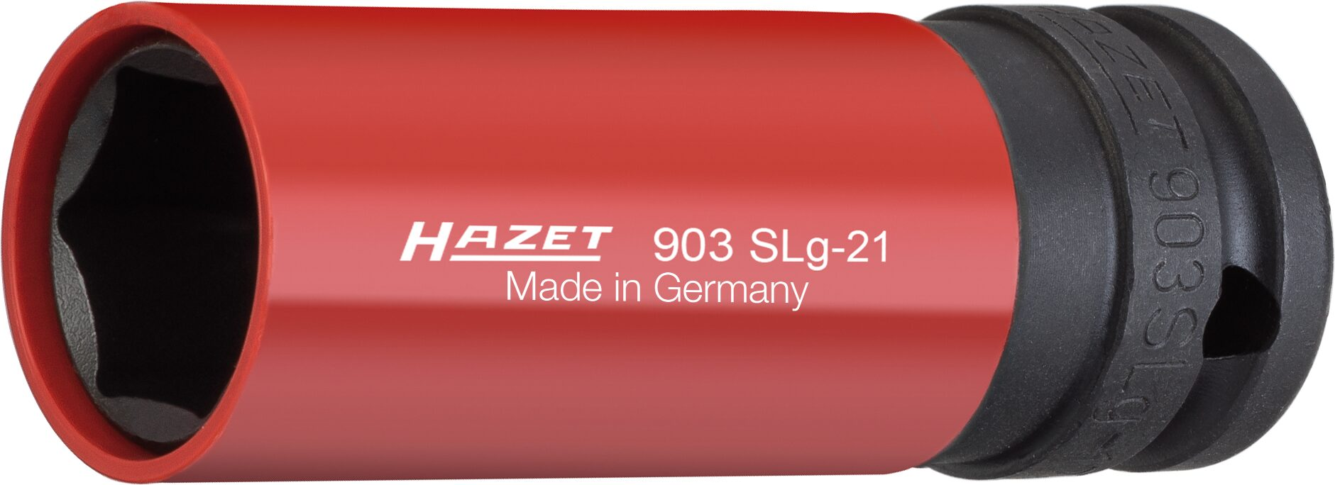 HAZET Schlag- ∙ Maschinenschrauber Steckschlüsseleinsatz ∙ Sechskant 903SLG-21 ∙ Vierkant hohl 12,5 mm (1/2 Zoll)