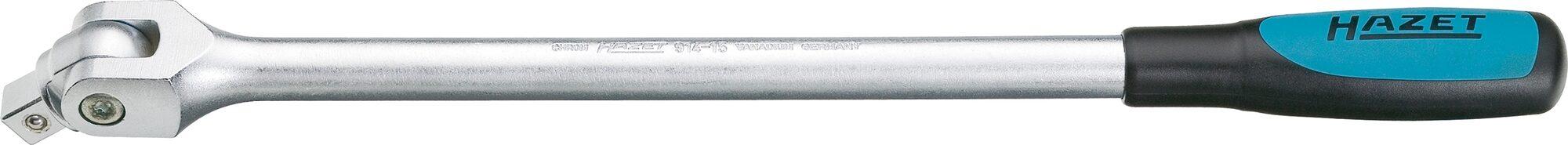 HAZET Gelenkgriff 914-15 ∙ Vierkant massiv 12,5 mm (1/2 Zoll)