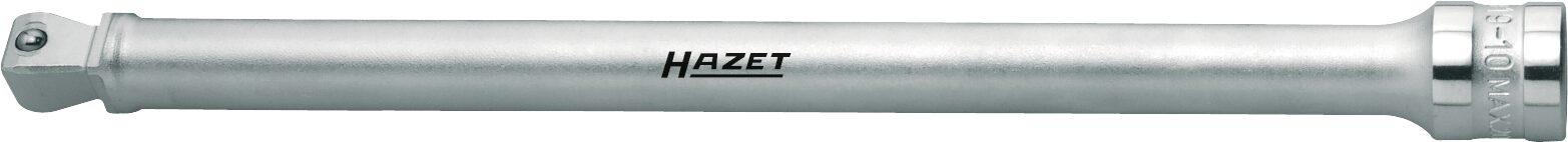 HAZET Verlängerung ∙ schwenkbar 919-10 ∙ Vierkant hohl 12,5 mm (1/2 Zoll) ∙ Vierkant massiv 12,5 mm (1/2 Zoll)