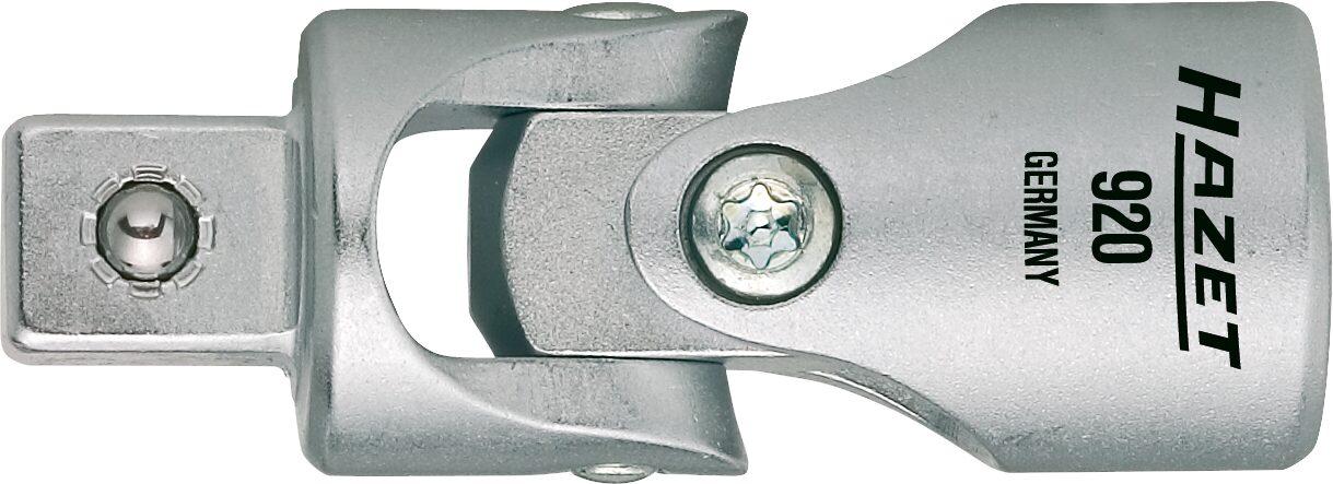 HAZET Universal Gelenk 920 ∙ Vierkant hohl 12,5 mm (1/2 Zoll) ∙ Vierkant massiv 12,5 mm (1/2 Zoll)
