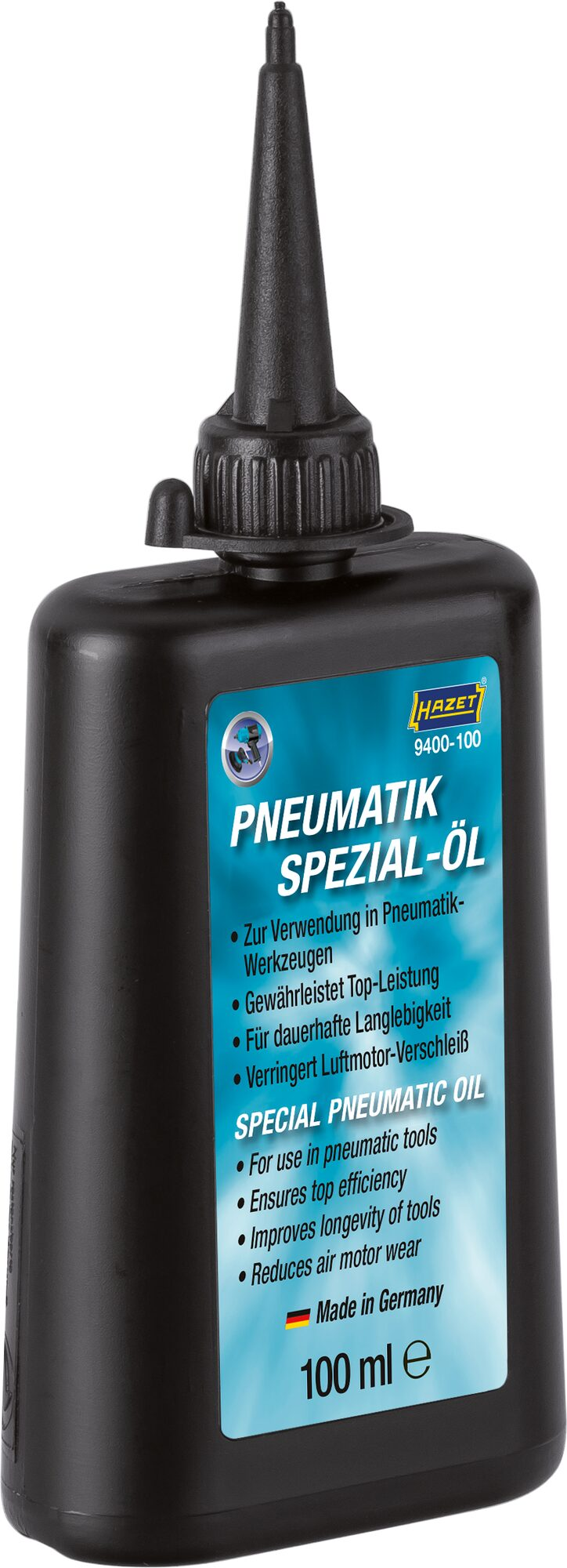 HAZET Pneumatik Spezial-Öl ∙ 100ml 9400-100