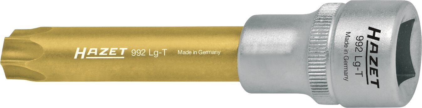 HAZET Schraubendreher-Steckschlüsseleinsatz TORX® 992LG-T50 ∙ Vierkant hohl 12,5 mm (1/2 Zoll) ∙ Innen TORX® Profil