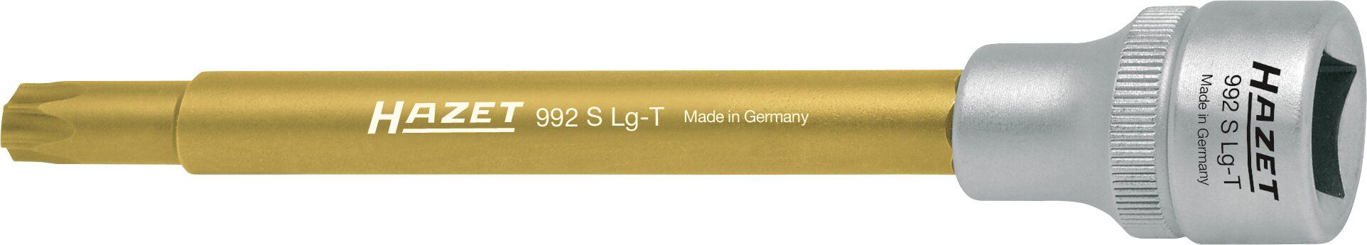 HAZET Schraubendreher-Steckschlüsseleinsatz TORX® 992SLG-T45 ∙ Vierkant hohl 12,5 mm (1/2 Zoll) ∙ Innen TORX® Profil