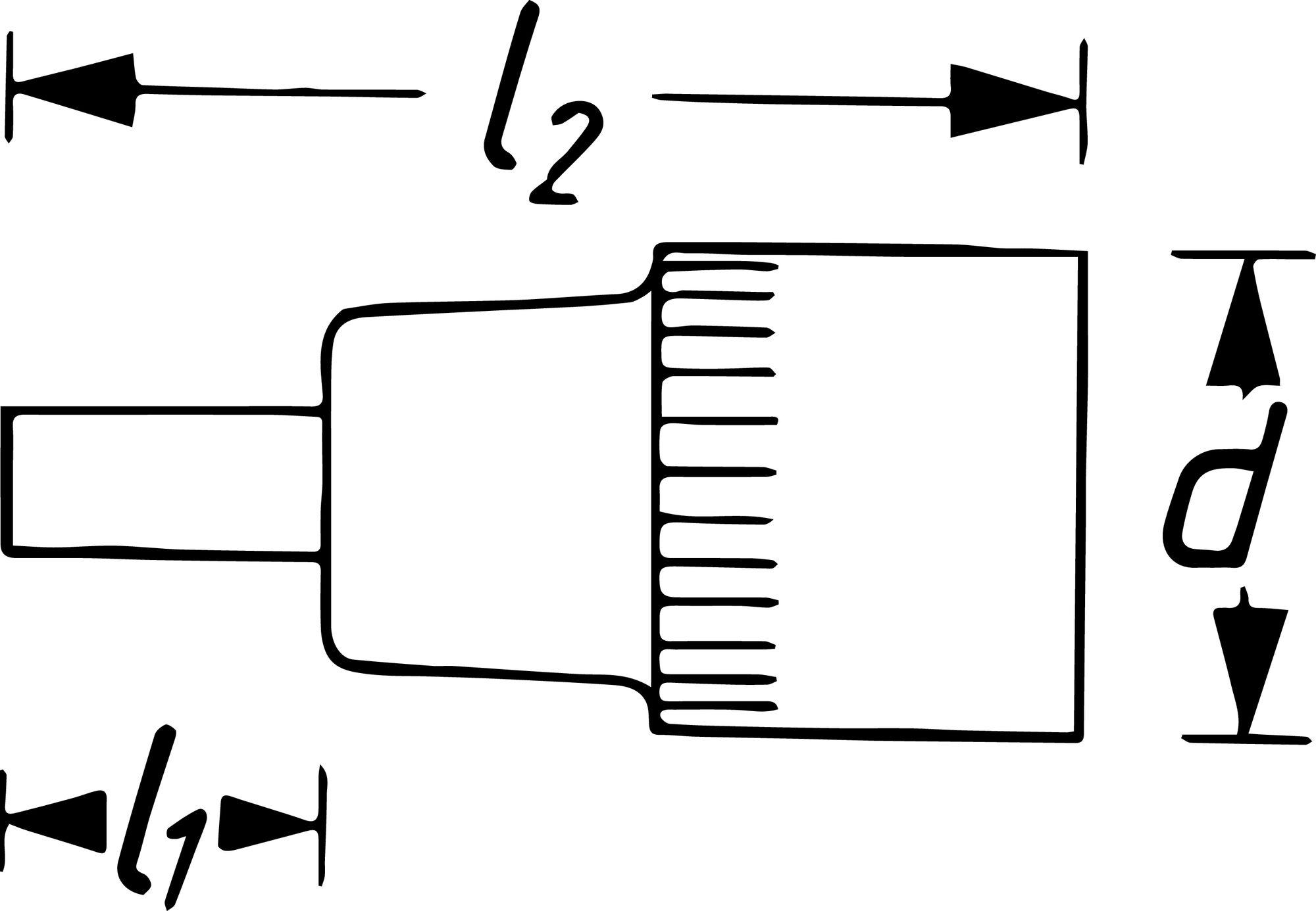 HAZET Zylinderkopf Schraubendreher-Steckschlüsseleinsatz 2751 ∙ Vierkant hohl 12,5 mm (1/2 Zoll) ∙ M10